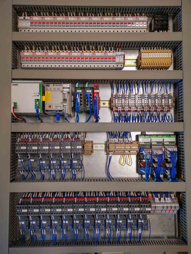 Small Industrial Electrical Control Panel