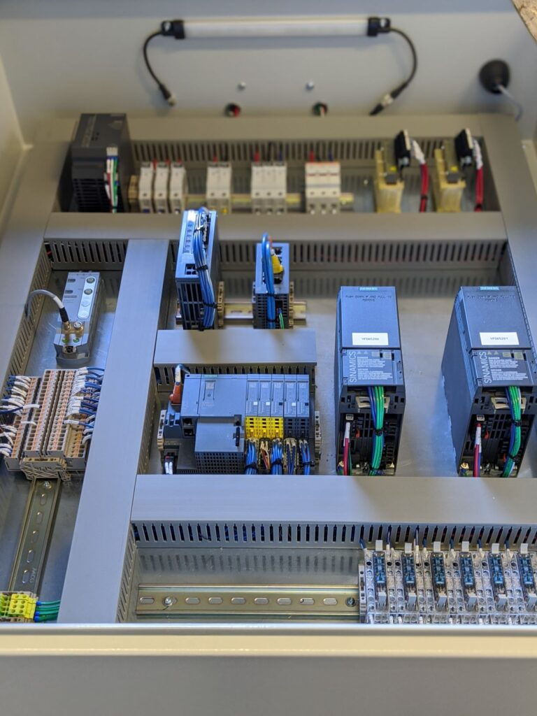 Industrial Electrical Control Panel Completed